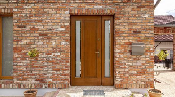 Drzwi zewnętrzne Barański