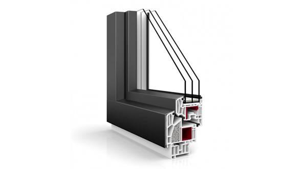 Nakładki aluminiowe dla okien PCV