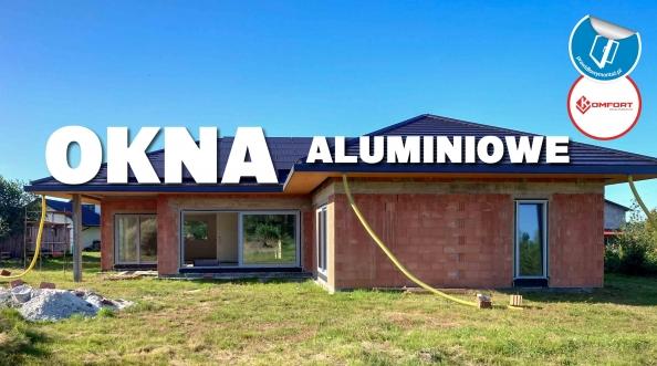 Aluminiowe okna i drzwi