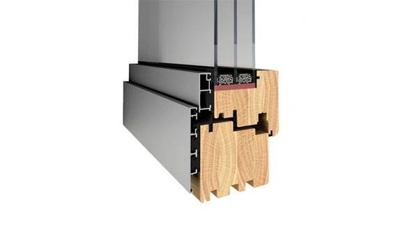 Okna drewniano-aluminiowe Pozbud Gemini
