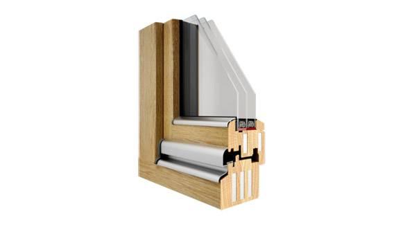 Okna drewniane Pozbud Passiv 92