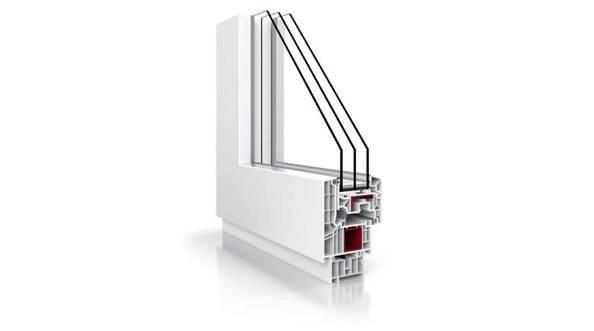 Okna PCV Vetrex&nbsp;<br />V82 Modern Design