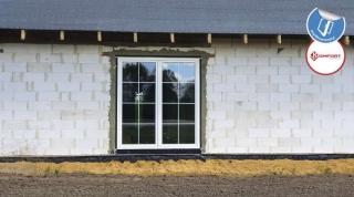 Okna w domu typu mały dworek