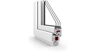 Okno Vetrex V82 Black Design biały
