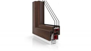 Okno Vetrex V90+ Siena Rosso