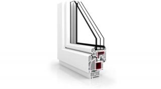 Okna PCV Vetrex VR90 Synergy Białe