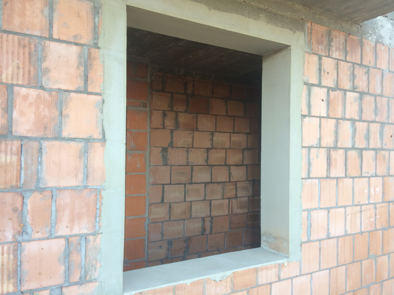 Montaż okien - przygotowanie ościeży