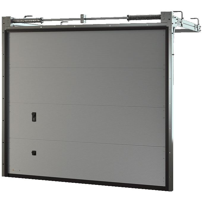 Brama segmentowa Krispol VENTE K2 RM