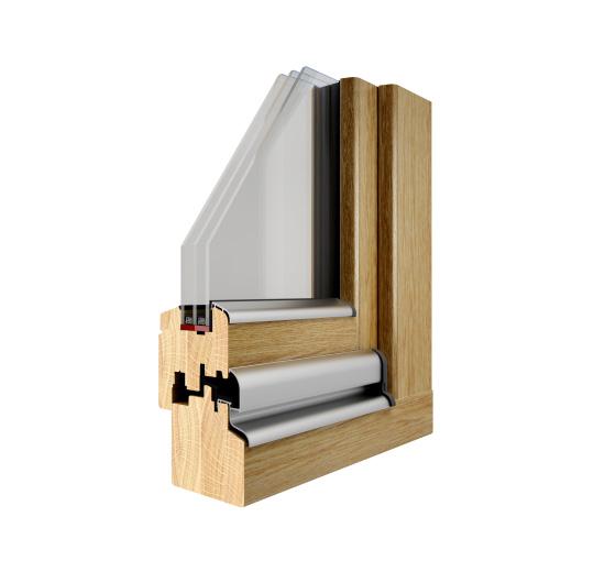 Okna drewniane Pozbud Thermo 78