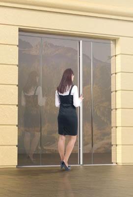 Drzwi całoszklane