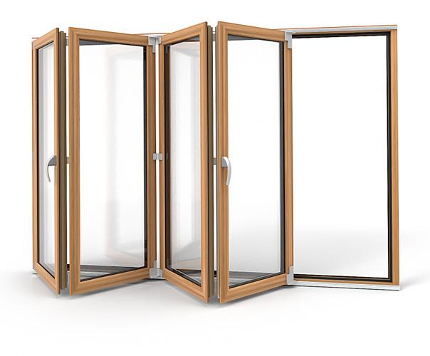 Drzwi składano-przesuwne Vetrex Patio Space