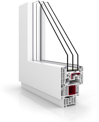 Okna PCV Vetrex V82 Modern Design